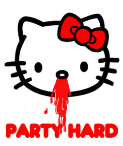 Party-hard-Kitty